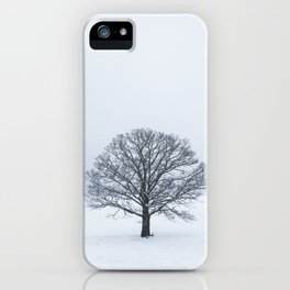 Frozen Tree iPhone Case