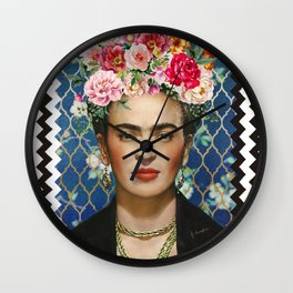 Forever Frida Wall Clock