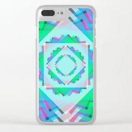Leaf Energy Focus Clear iPhone Case