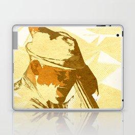 Jazz Contrabassist Poster Laptop & iPad Skin