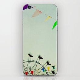 summer festival iPhone Skin