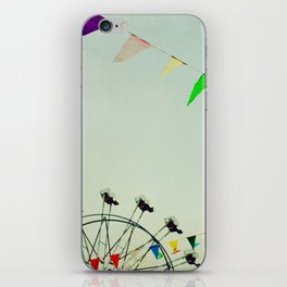 summer festival iPhone Skin