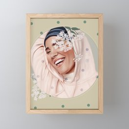 LUCEAT LUX VESTRA Framed Mini Art Print