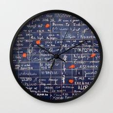 LOVE WALL Wall Clock