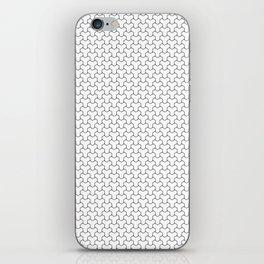 Y Weave Interlocking Pattern 02 iPhone Skin