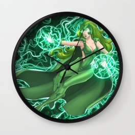 Polarity Wall Clock