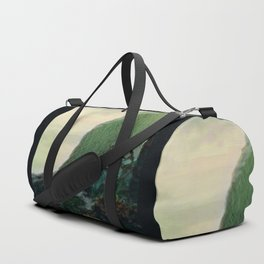 Mists In The Pitons: St. Lucia Duffle Bag