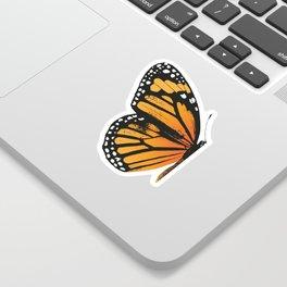 Monarch Butterfly | Left Wing Sticker