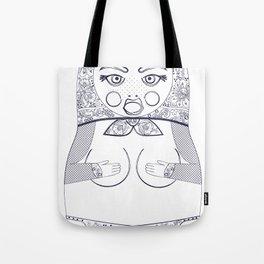 Blueprint X Matryoshka / Nesting Doll Tote Bag