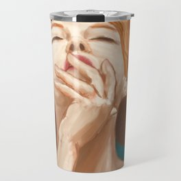 Red Head Travel Mug
