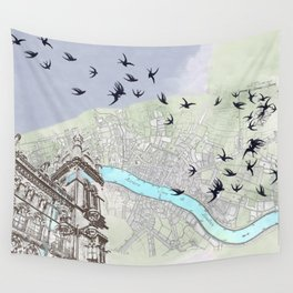 The redemption of memory Wall Tapestry