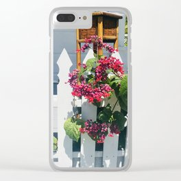 Bahamian Ting Clear iPhone Case