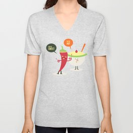 Complimentary - HOT AND SWEET Unisex V-Neck
