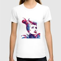 maleficent T-shirts featuring Maleficent by lauramaahs