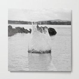 Splash Metal Print