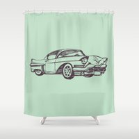 car Shower Curtains featuring Car by Mr and Mrs Quirynen