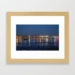 Langstone Harbour. Framed Art Print