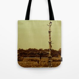 Lonely Crow Tote Bag