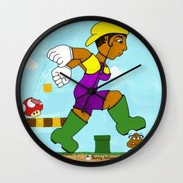 Lauriel: Super Mario Sister Wall Clock