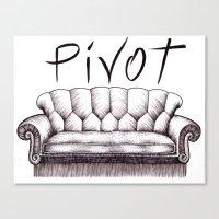 pivot Canvas Prints featuring Pivot by Coreypopp