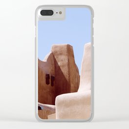 Colors of Santa Fe Clear iPhone Case