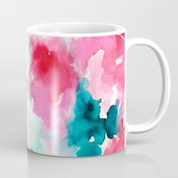 water color Mugs featuring Water color by moniquilla