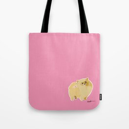 Pom Puff Tote Bag