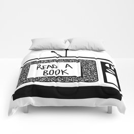 READ A BOOK Comforters