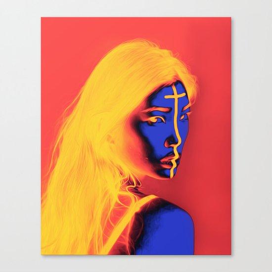 Zina Canvas Print