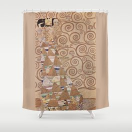 Gustav Klimt - The Expectation Shower Curtain