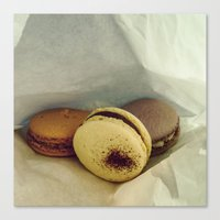 macaron Canvas Prints featuring Macaron by Chee Sim
