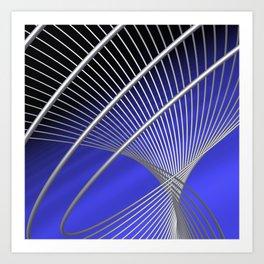 lines -3- Art Print