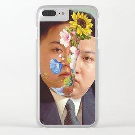 Kim Jong Un - Photo Manipulation Clear iPhone Case