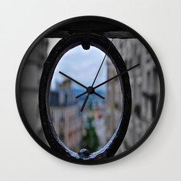 Unfocused Wall Clock