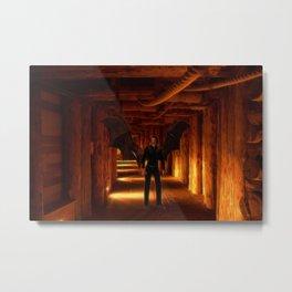 The Vampire Tunnel Metal Print