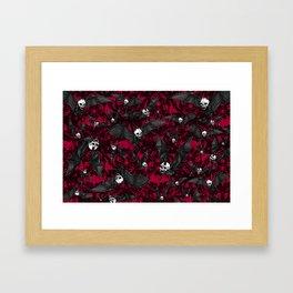 Skelebats - Blood Bath Framed Art Print