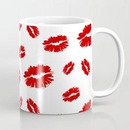 Lips pattern Coffee Mug