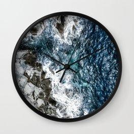 Skagerrak Coastline - Aerial Photography Wall Clock