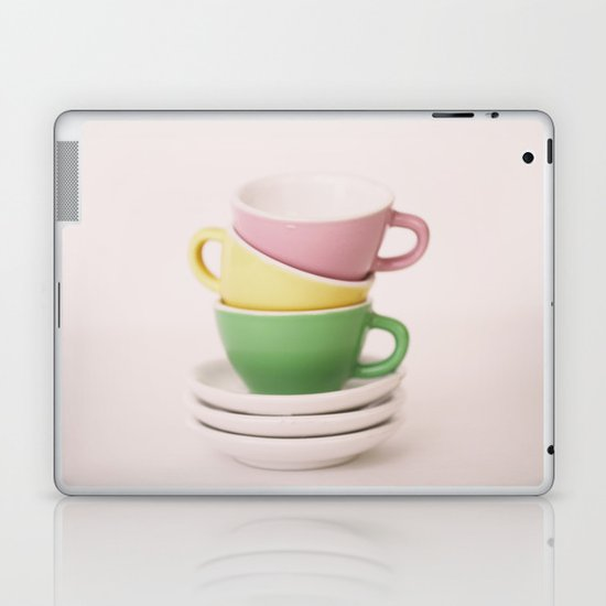 tea cups Laptop & iPad Skin