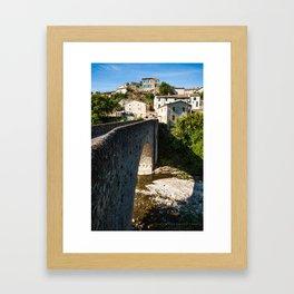 France Framed Art Print