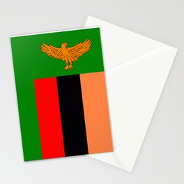 Flag of Zambia Stationery Cards