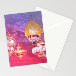 Oriental Magical Lights and Love Stationery Cards