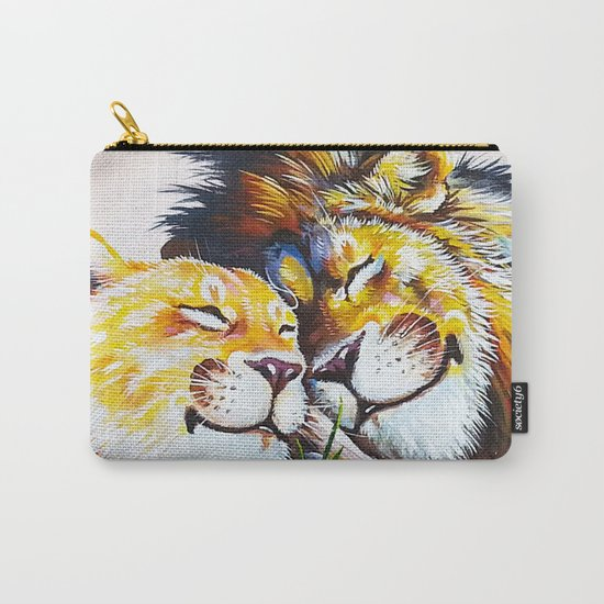 lion love Carry-All Pouch