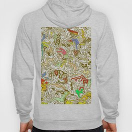 Kamasutra LOVE - Retro Yellow Hoody