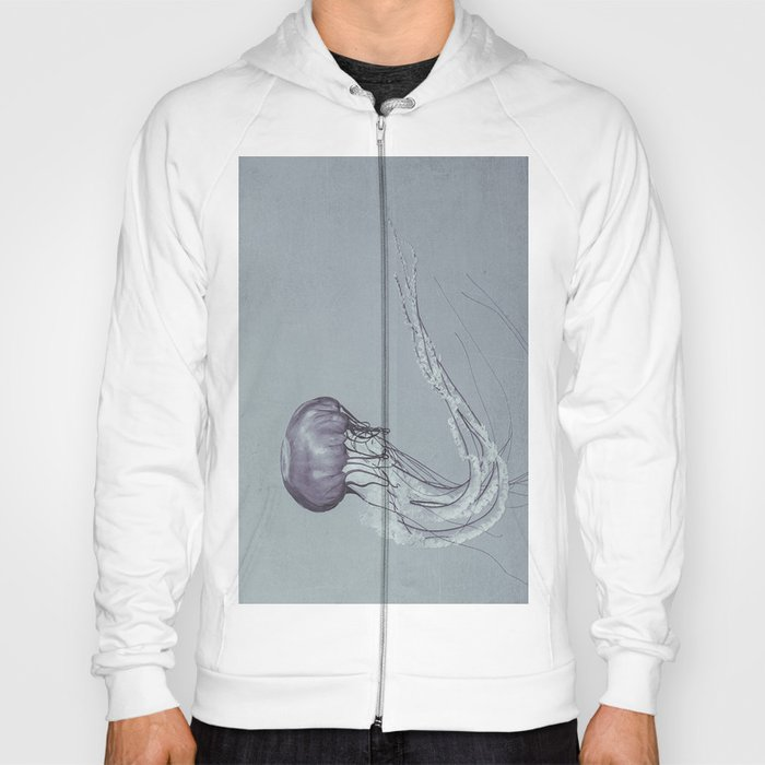 Black and White Jellyfish II Hoody