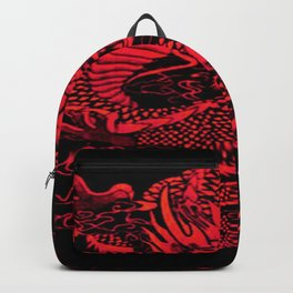 Epic Dragon Red Backpack
