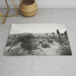 The Place to be in Joshua Tree Rug