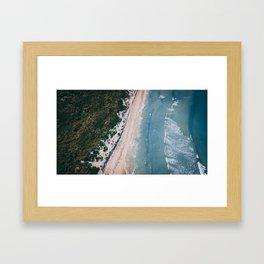 Avoid Pier Pressure Framed Art Print