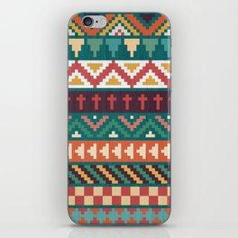 Southwestern Pattern iPhone Skin