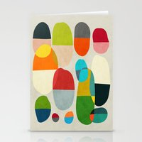 pills Stationery Cards featuring Jagged little pills by Picomodi